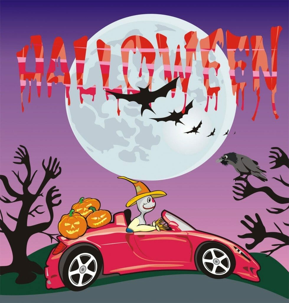 halloween vehicle safety tips for safe driving in milford and anderson, ohio