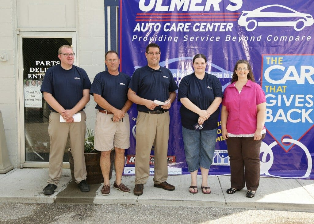 Anderson Township families who received cars in 2013