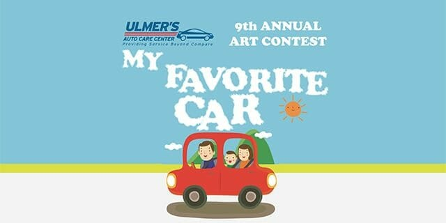 Ulmer's Auto Care is excited to kick-off our 9th Annual Art Contest!